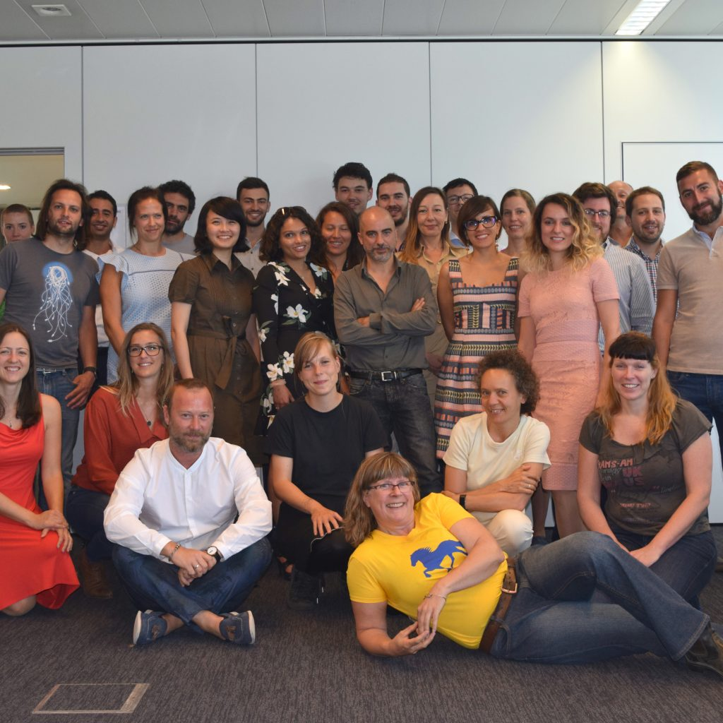 An image of the 23 WEAR Sustain Teams at the Induction Day